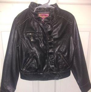 Dollhouse faux leather jacket